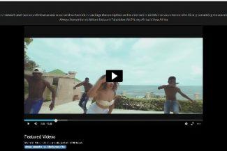 Imagem do vídeo IPTV para celular Datatix pausado.
