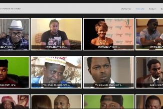 Imagem com a lista de vídeos disponíveis para assistir no modo IPTV para celular Datatix.