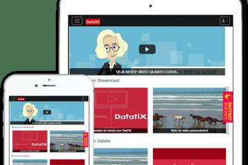 apresentação Datatix Streaming video hosting